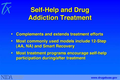 Detox Substance Abuse Treatment by 5 Self Help And Addiction Treatment National