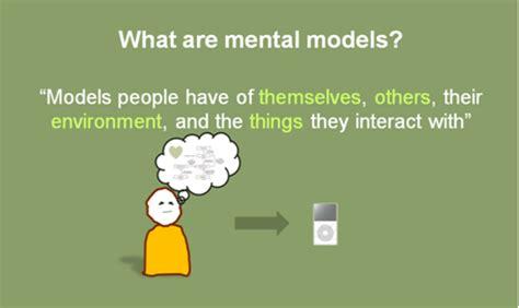 design model definition isn t a mental model something else not a diagram indi