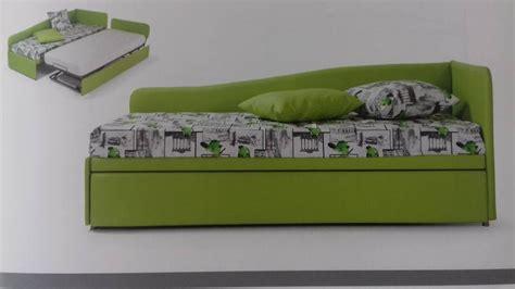 divani letto con letto estraibile divano letto singolo con secondo letto estraibile isa05