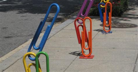 Artistic Bike Racks by Painterly Visions Golden Triangle Bid Unveils Winning