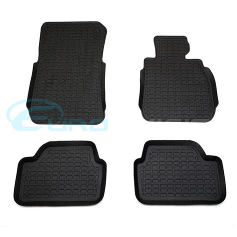 bmw 3 series e90 3d rubber floor mats custom made euro division your european automotive