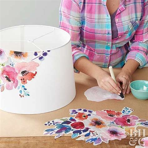 decoupage lshade with fabric best 25 l shades ideas on