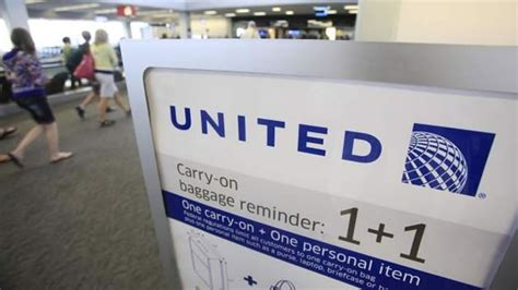 united carry on policy change united airlines changes its carry on policies belize
