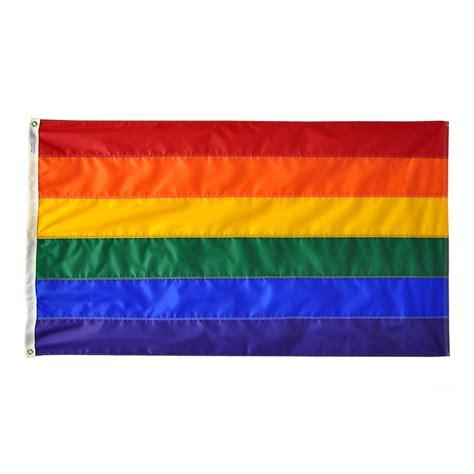 Decorative Ornaments For The Home Rainbow Flag 3 X 5 Nylon Outdoor Rainbow Flag