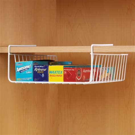 shelf wire basket