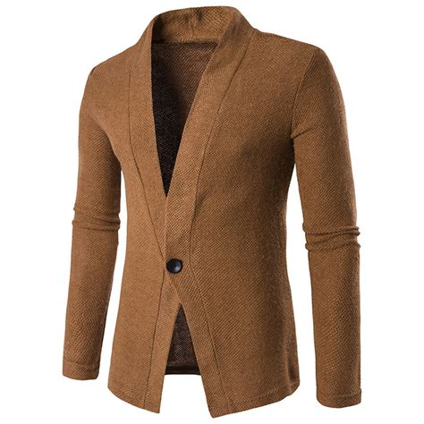 Sale Cardigan sale s one button sleeve slim fit lapel knitted cardigan sweater ebay
