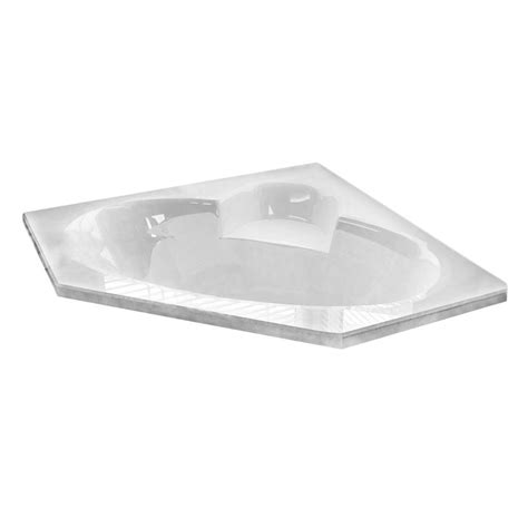 universal tubs 5 ft right drain walk in bathtub in white