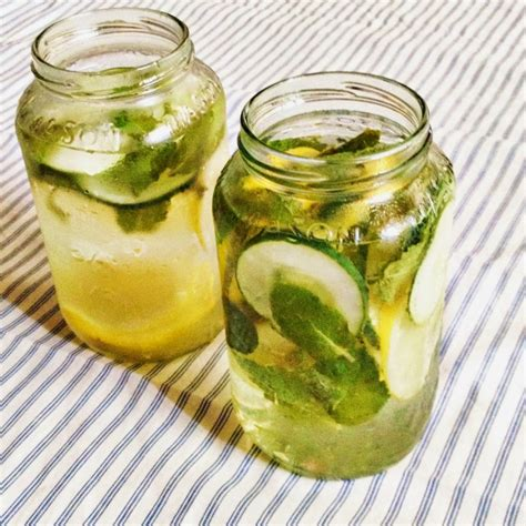 Peppermint Tea Lemon Detox by 38 Detox Waters To Cleanse Your And Mind