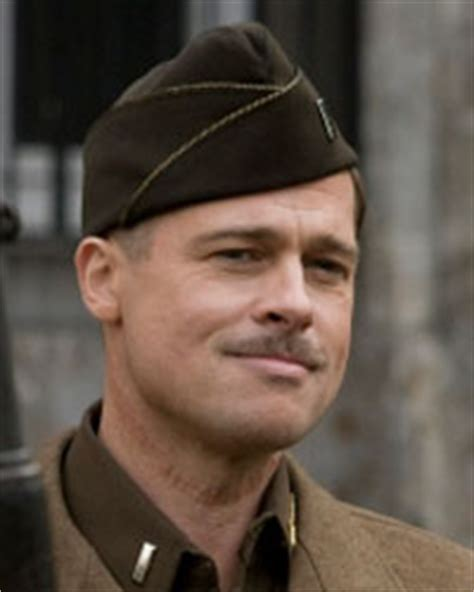 brad pitt inglorious bastard haircut two photos from inglourious basterds filmofilia