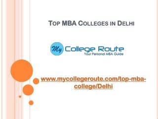Mba Correspondence Colleges In Delhi by Ppt Mba Colleges In Bangalore Powerpoint Presentation