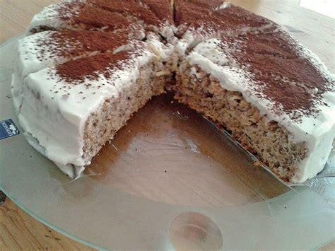 Fitness Apfel Nuss Kuchen Mit Quarkhaube Rezept Mit