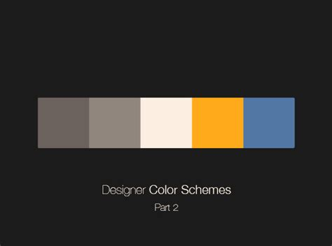 color schemes designer beautiful colour palettes for designers part iv