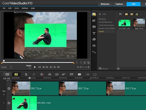 tutorial filmora green screen chroma key tutorial how to use green screen in corel