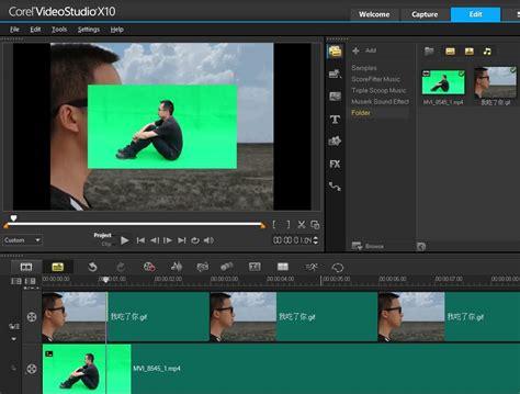 tutorial edit video corel videostudio chroma key tutorial how to use green screen in corel
