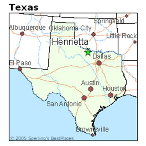 henrietta texas map best places to live in henrietta texas