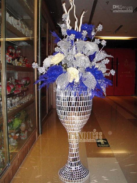 Large Vases With Artificial Flowers by Large Floor Vase Set Modern Fashion Artificial Flower