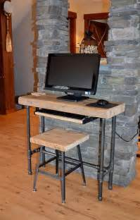 Small Wood Desks 25 Best Ideas About Wood Computer Desk On Simple Computer Desk Monitor Stand And
