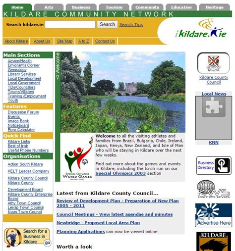 kildare council launch gis planning county kildare community network history