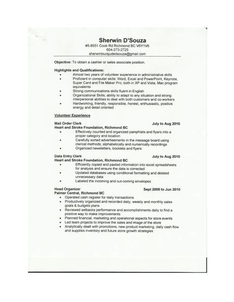 retail sales associate spectacular sales resume sample free resume