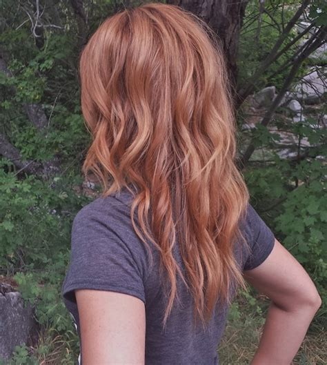 medium copper blonde hair color medium copper golden blonde hair color hairstylegalleries