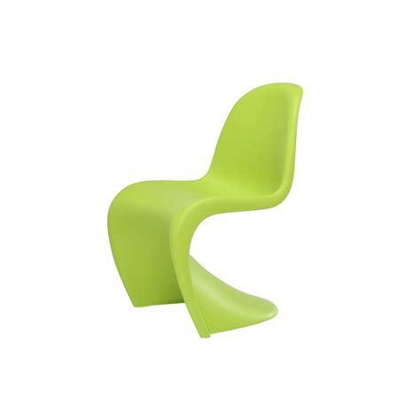 chaise verte chaise panton junior vitra trentotto mobilier design