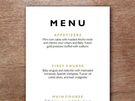 come dine with me menu template distel moderne jahrgang hochzeit 252 vorlage hochzeitsmen 252