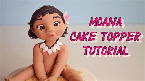 Topper Moana Ll disney s moana cake topper fondant oceania vaiana in pasta di zucche tutorials