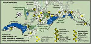 whistler map whistler accommodation maps bc canada