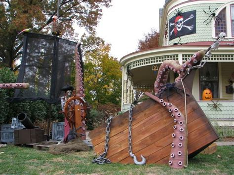 588 Best Pirate Theme Haunt Ideas Images On Pinterest Haunted Backyard Ideas