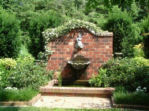 garden wall fountains water works refreshing fountains keep the peace