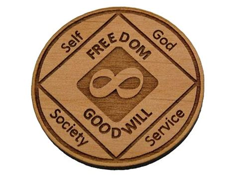 infinity chip wooden na infinity chip memorial quot eternity quot chips for