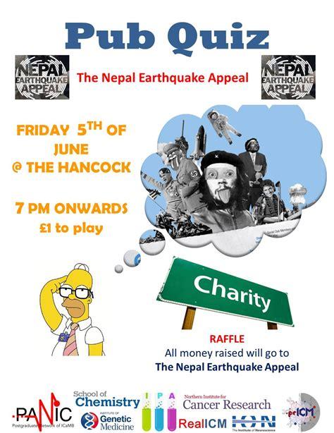 quiz questions june 2015 nepal earthquake appeal pub quiz 5th june igm public