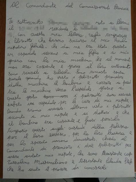 lettere per il nonno lettera nonno ringraziamento polizia 2 2 partinicolive it