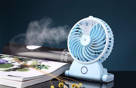 Kipas Angin Air Mini kipas embun kipas angin portable untuk menyejukkan