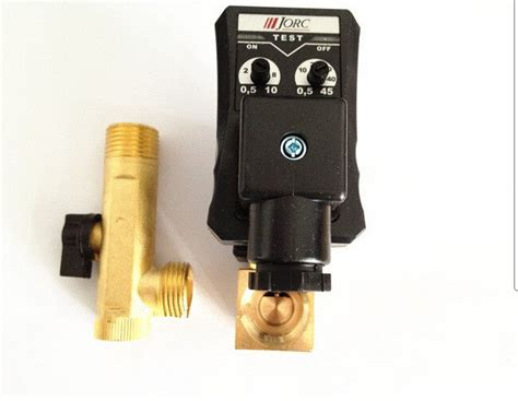 automatic electronic timed air compressor tank drain valve 230vac 1 2 quot nib ebay