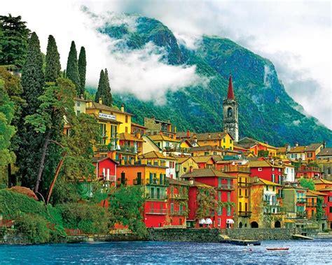 Puzzle Wharf Italy Flavor mediterranean waterfront jigsaw puzzle puzzlewarehouse