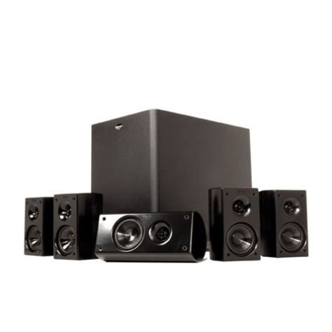 klipsch hd 300 compact 5 1 high definition theater system