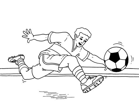 Free Soccer Coloring Pages Coloring Home Soccer Color Pages
