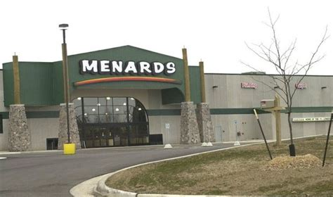 menards delays filing site plans for gull road store in