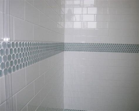 penny tile bathroom ideas penny tile bathroom ideas bathroom update pinterest