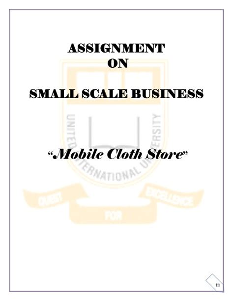 Small Scale Home Based Business Small Scale Business