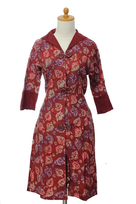 batik dress dr001 batikunikcantik