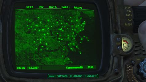 Tech Office Pictures player charts every single unmarked location in fallout 4