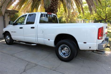 how does cars work 2003 dodge ram 3500 parking system sell used 2003 dodge ram 3500 dually 5 7 hemi gas not diesel in sacramento california united