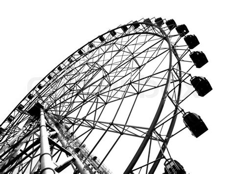 free stock photo of black and white hd wallpaper hiking outline of a large ferris wheel stock photo colourbox