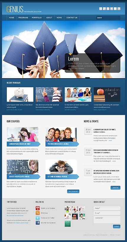 themes university 50 hand picked education wordpress themes for spreading
