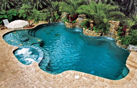 Free Form Pools | free form pools blue haven pools backyard pool