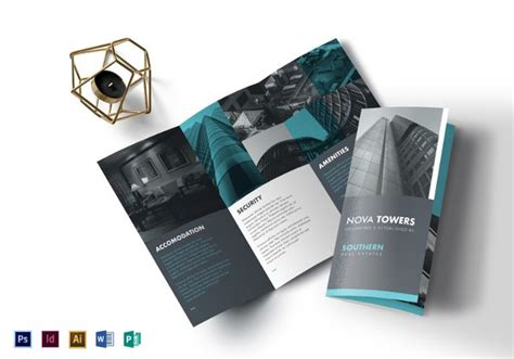 real estate tri fold brochure template 41 real estate brochure designs exles psd ai