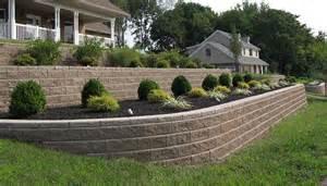 Walkout Basement Backyard Ideas Allan Block Burnco Landscape