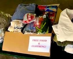 Should Food Be Left For The Homeless by Clothes And Food Left In The Park For Homeless News